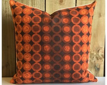 Cushion Cover Vintage 60s Heals Halo Peter Hall  Mid Century