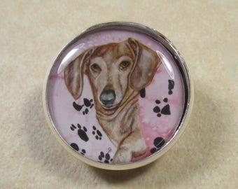 Dachshund Pin, Dachshund Brooch, Dachshund Lapel Pin, Dachshund Jewelry, Wiener Dog Pin, Wiener Dog Brooch, Wiener Dog Jewelry