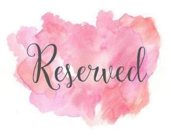 Reserved Listing for Franki