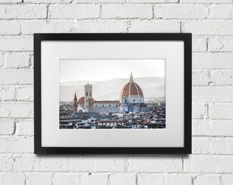 Florence Italy Print Duomo Florenze Photography Wall Art