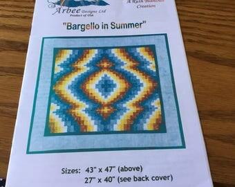 BARGELLO IN SUMMER - Quilt Pattern Only