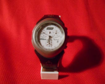 """One (1) Timex. """"Ironman"""", Indiglo, Analog Chronograph Watch, with """"NORTON"""" on the dial."""
