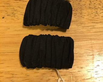 Black Scrunchy Musi Shoe Clips