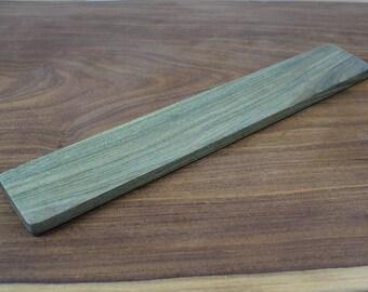 Keyboard Wrist Rest - Lignum Vitae wood