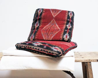 Throw Pillows Set of 2 / Kilim Pillow / Decorative Pillows / Southwestern Pillow / Southwestern Decor