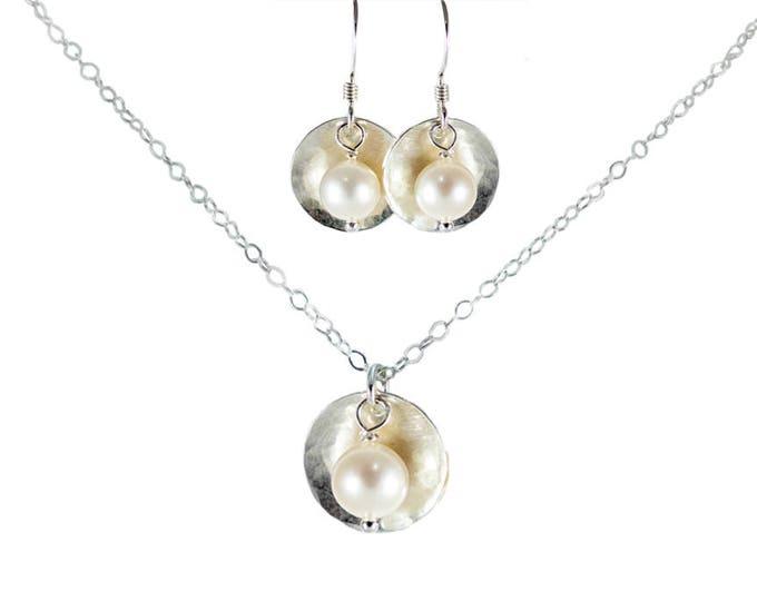 1/2 inch Bead & Disc Jewelry Set