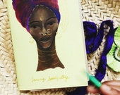 Mantra Cahier: Heritage Woman