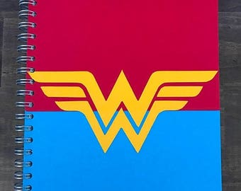 Wonder Woman A4 Notebook/Bullet Journal/BuJo [CLEARANCE]