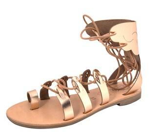 Greek Ancient Leather Sandals