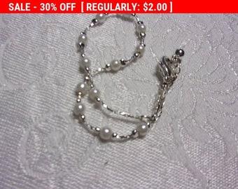 Vintage beaded bracelet, hippie, boho