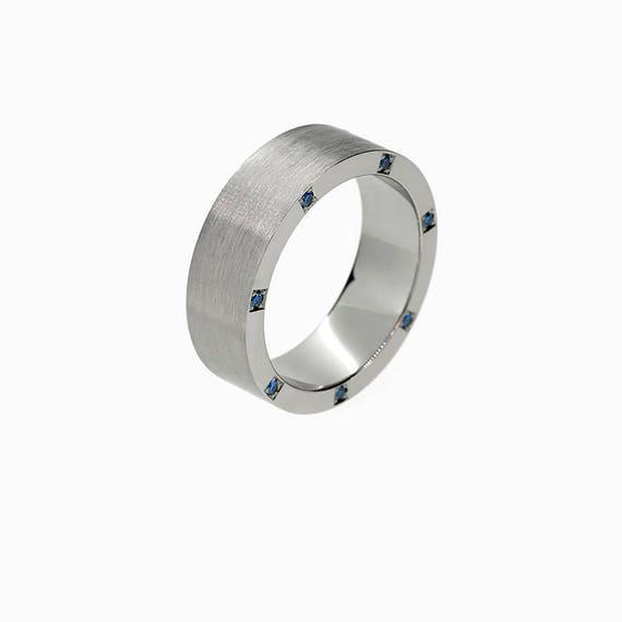 like this item - Mens Sapphire Wedding Rings
