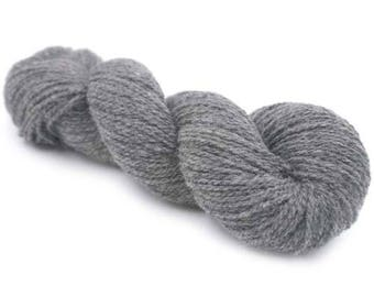 New York 100 % Organic Merino Wool - Charcoal Melange