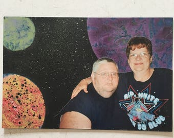 SHIT IN SPACE! Trailer couple...in space! Outsider art. Space art. Poop poop. Lowbrow art. Punching down..more like latterly.