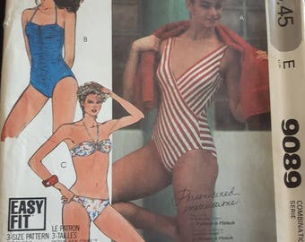 McCalls 9089, Swimsuit Sewing Pattern