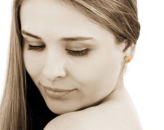 SUMMER SALE - Citrine earrings,gemstone earrings,teardrop earrings,maid of honor earrings,unique gifts,bridesmaid gifts