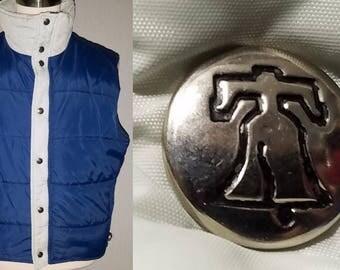 1970s Vest / M - L / Puffer Vest / Puffy Vest / 1980s Vest / Snowboard / Ski Vest / Camping / Hiking Vest / 1970s Mens Fashion / Gorpcore