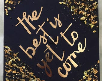 Custom Graduation Cap Decal Quote