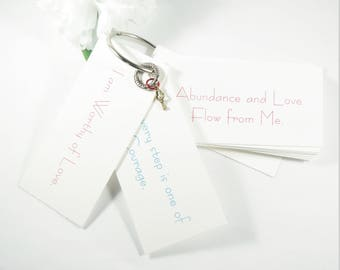 Self Love Daily Affirmation Cards, Inspiring Cards, Positive Affirmation Card, Postive Energy Motivational Positive Cards Affirmations