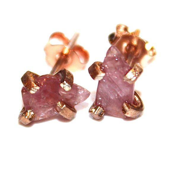 Fancy Cut Sapphire Earrings