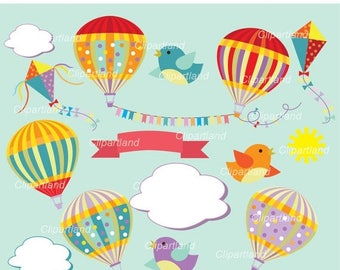 ON SALE INSTANT Download. Hot air Balloon 2. Personal and commercial use.