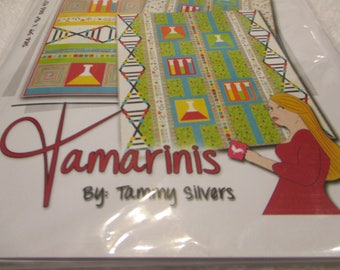 Paper pattern for a quilt called Mad Science by Tammy Silvers 3 quilts features Northcotts Baby Genius fabric