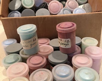 Canisters of China Paint Powders