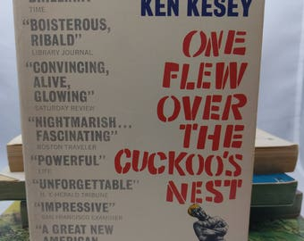 One Flew Over the Cuckoo's Nest by KEN KESEY, 1962 paperback in very good condition, Signet