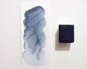Blue Vivianite  - Handmade Watercolor Paint - Gemstone Paint - Artist Gift - Art Paint - Handcrafted Professional Watercolour