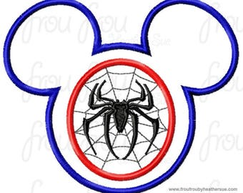 Spiderman Mouse Custom embroidered Disney Inspired Vacation Shirts for the Family! 6