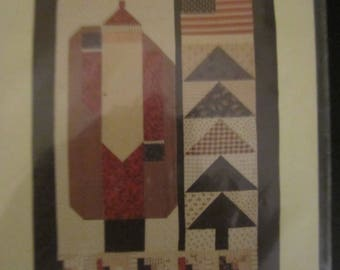 Uncle Santa Wall Quilt Pattern
