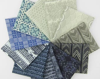 Parson Gray Favorites Fat Quarter Bundle - Parson Gray for FreeSpirit - 11 FQs - 2.75 Yards Total
