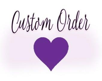 Custom veil for Kelsey