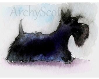 Scottie Dog Fine Art print #128
