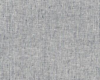 Indigo Essex Yarn Dyed Homespun from Robert Kaufman Navy Linen Fabric - Cotton Linen Blend - Quilt Fabric - Dark Blue Linen Yarn Dyed Linen