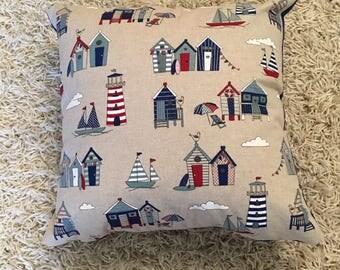 Seaside Themed Cushion