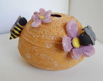 Handmade Decorative Bee Hive