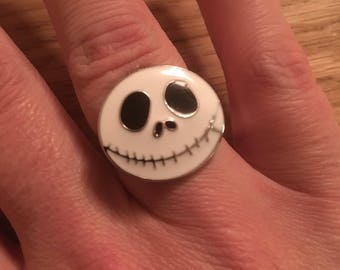 Nightmare Before Christmas Jack Skellington Ring