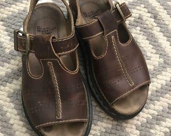 Vintage 90's Dr. Martens Buckle Sandals