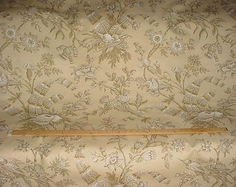 3-1/4 yards Brunschwig et Fils BR-79596 Shello Toile in Sand - Luxury Museum Reproduction Toile Drapery Upholstery Fabric - Free Shipping