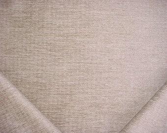 6-3/4 yards Robert Allen Beacon Hill 241638 Enoki Travertine - Crushed Chenille Drapery Upholstery Fabric - Below Wholesale - Free Shipping