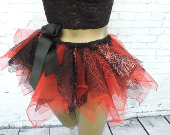 Sexy witch devil tutu costume adult tutu skirt halloween tutu costume edc edm rave halloween festival cloths cospla comic con tutu tutuhot
