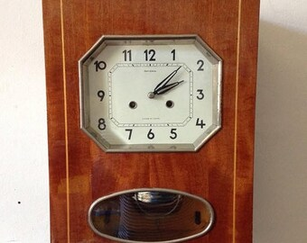 ON SALE Wall Clock with Chimes ,pendulum clock ,  Soviet clock ,Working Clock,Russian clock ,Mechanical clock , Vintage Clock