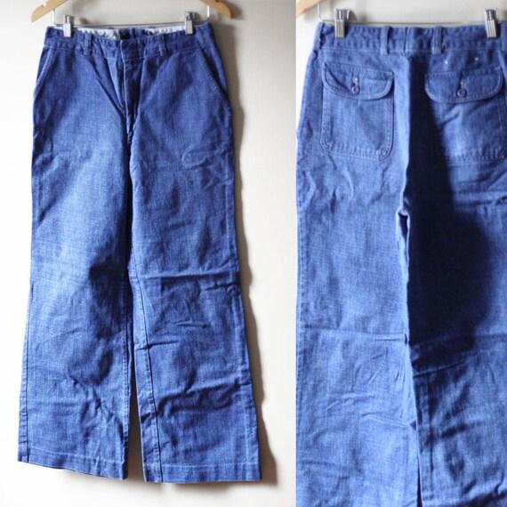 1970s Wescott Bell Bottom jeans // vintage denim // vintage jeans