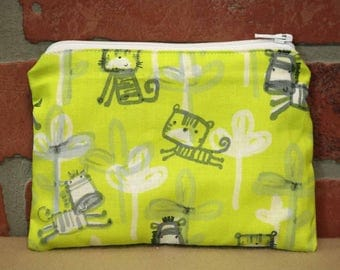 One Snack Sack, Reusable Lunch Bag, Waste-Free Lunch, Machine Washable, Zebra, Back to School, School Lunch, item #SS86