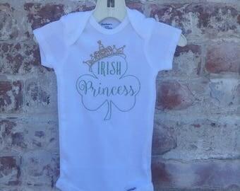 Glitter Irish Princess Bodysuit