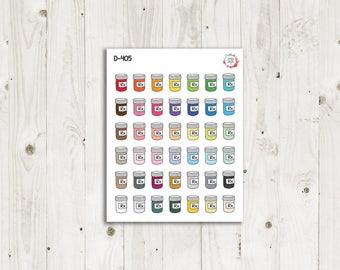 Prescription Planner Stickers - ECLP Stickers