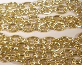 50cm chain convict CCB gold tone metal