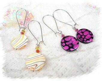 lot 2 pairs of earrings BO433