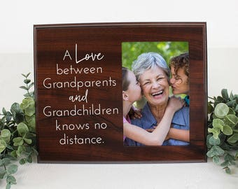 Grandparents picture frame A love between Grandparents