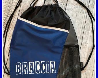 Drawsting bag, switch bag